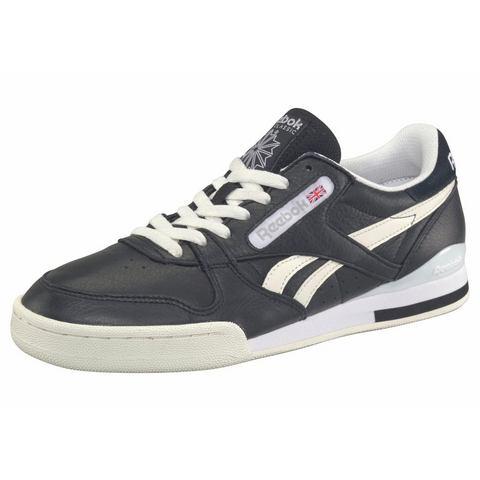 Reebok herensneaker zwart, grijs en wit