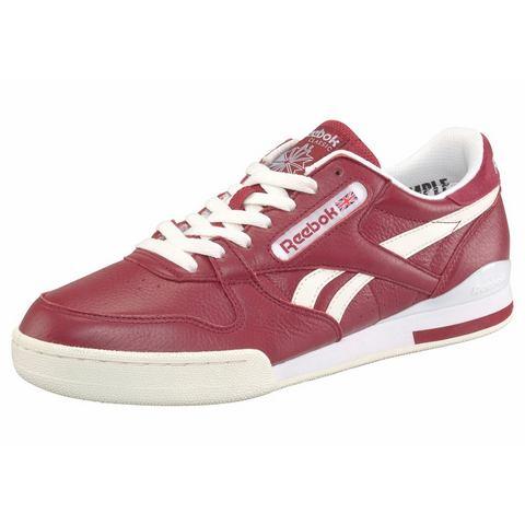 Reebok herensneaker grijs, wit en rood