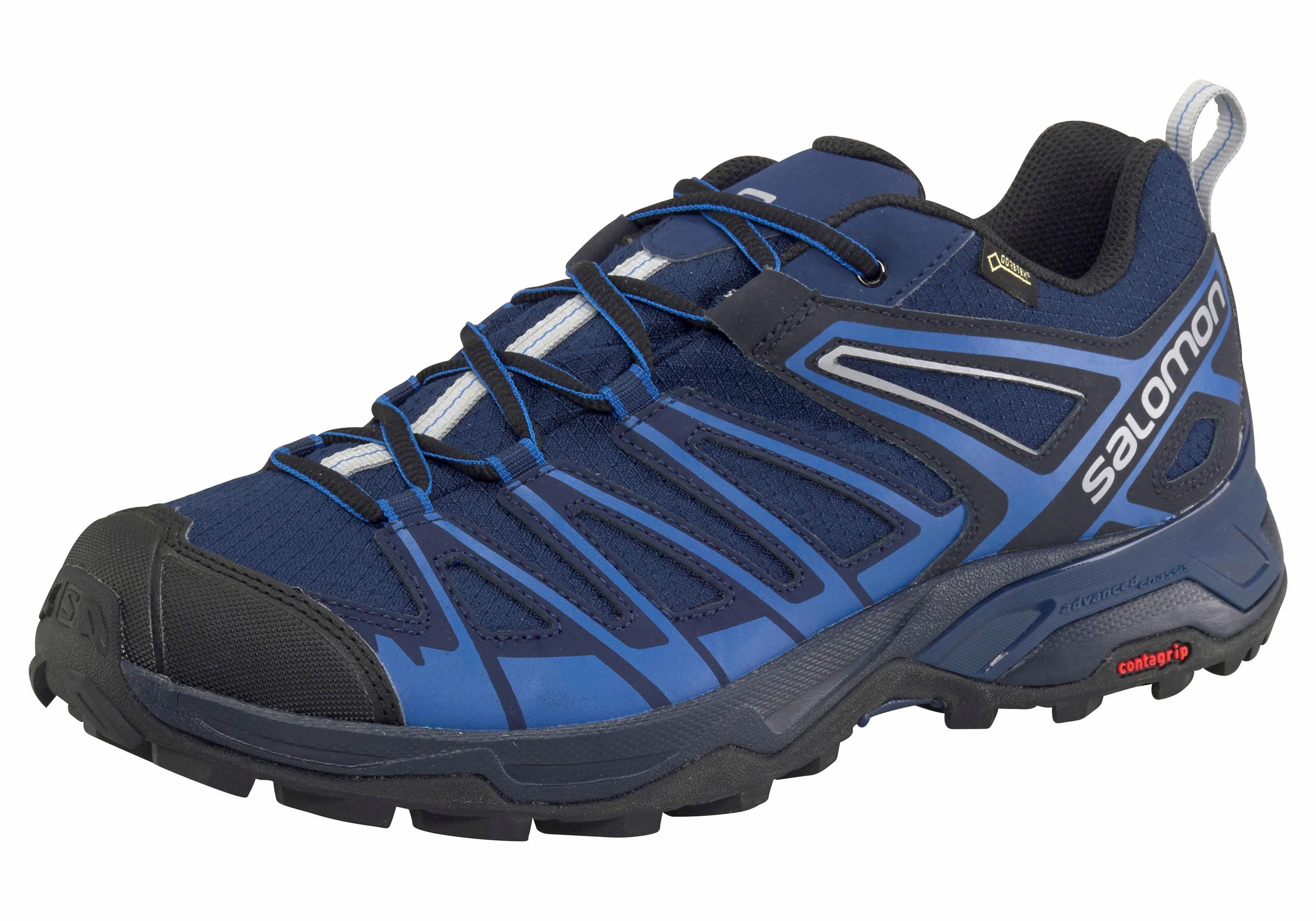 Chaussure Salomon Ultra X 3 Mid Gore-tex, Un Pour Les Hommes - Noir