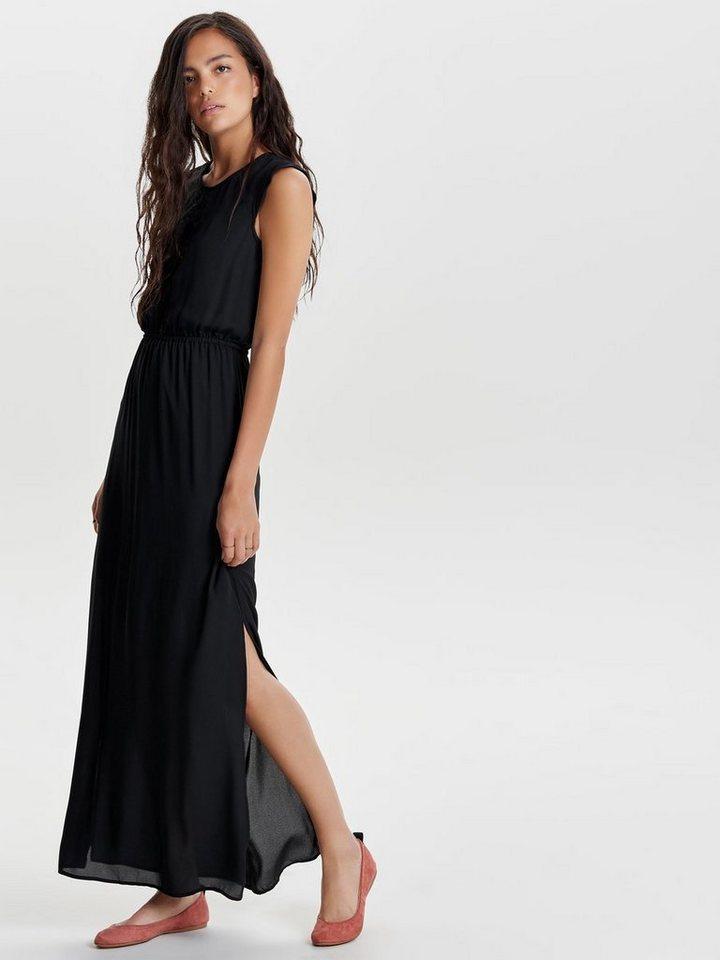 NU 21% KORTING: ONLY Lange jurk zwart