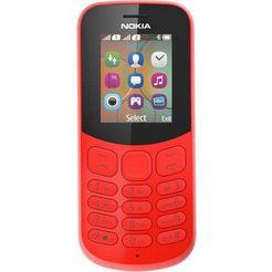 nokia 130 dualsim-gsm (4,6 cm - 1,8 inch) rood