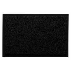 mat, »verdi«, andiamo, rechthoekig, hoogte 5 mm, machinaal getuft zwart