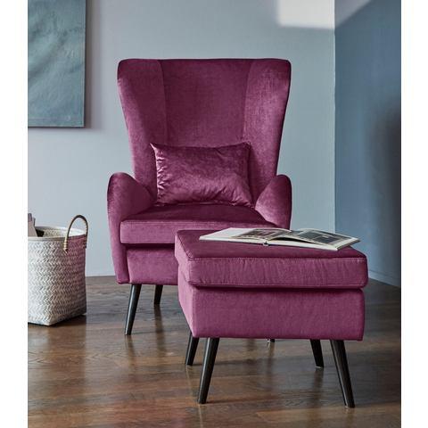 GMK Home & Living fauteuil Salla, naar keuze met of zonder hocker