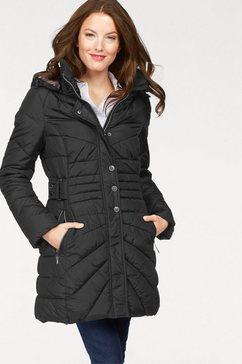vivance gewatteerde jas zwart