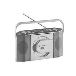 draagbare radio zilver