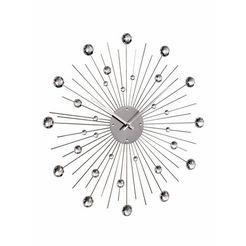 wandklok zilver