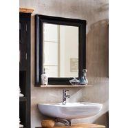 sit spiegel »corsica«, met planchet, breedte 68 cm zwart