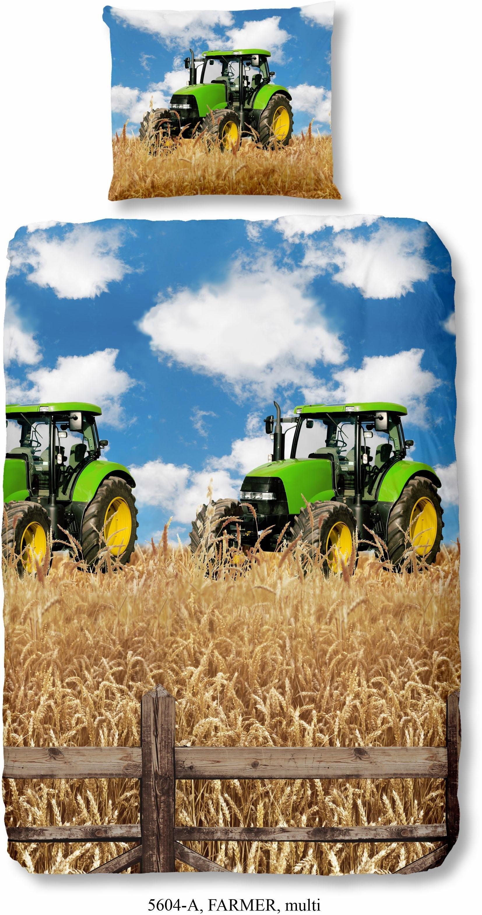 good morning kinderovertrekset Farmer met tractormotief (2-delig) bij OTTO online kopen