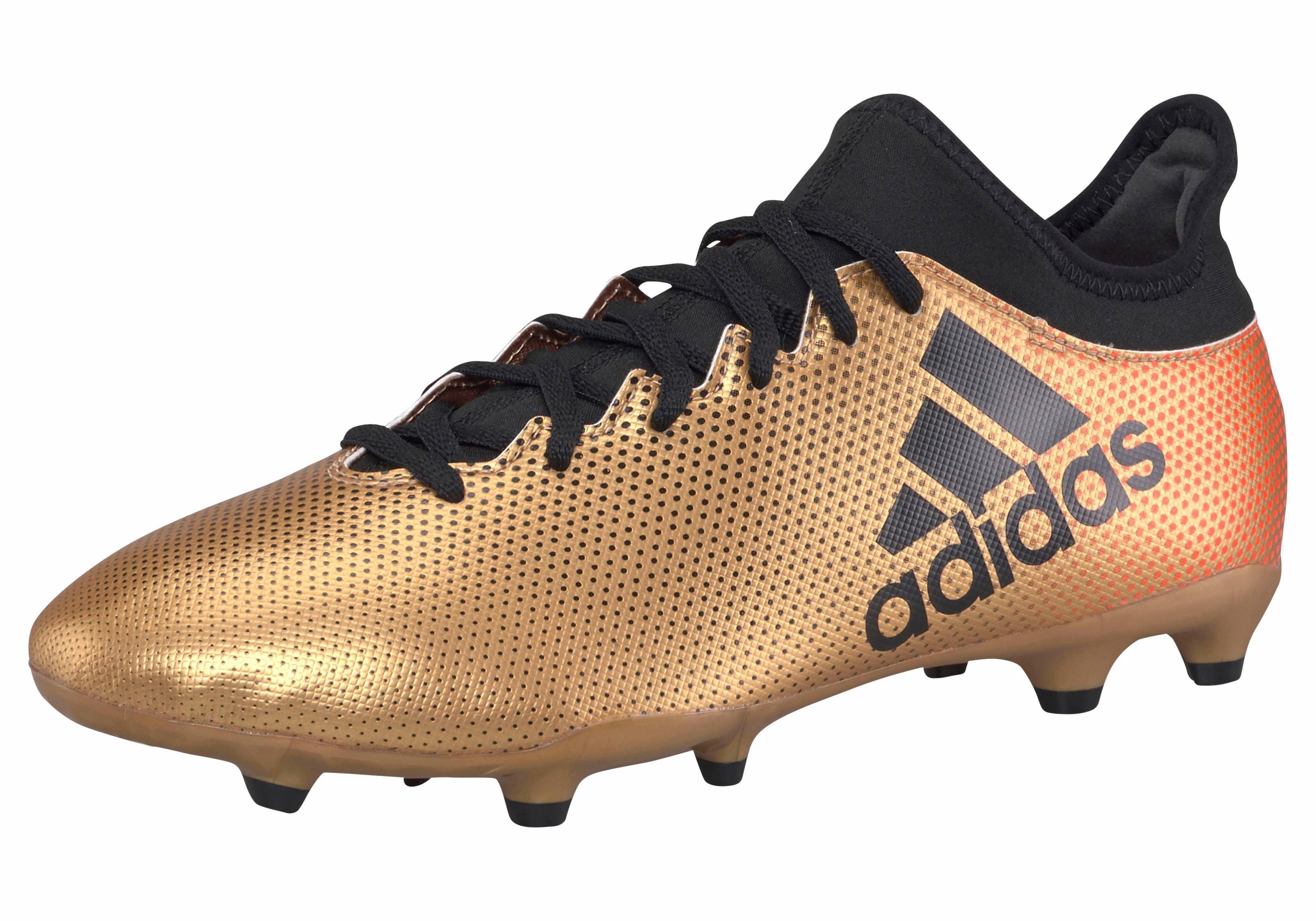 Chaussures De Football Adidas X 17,3 Fg Noir Adulte