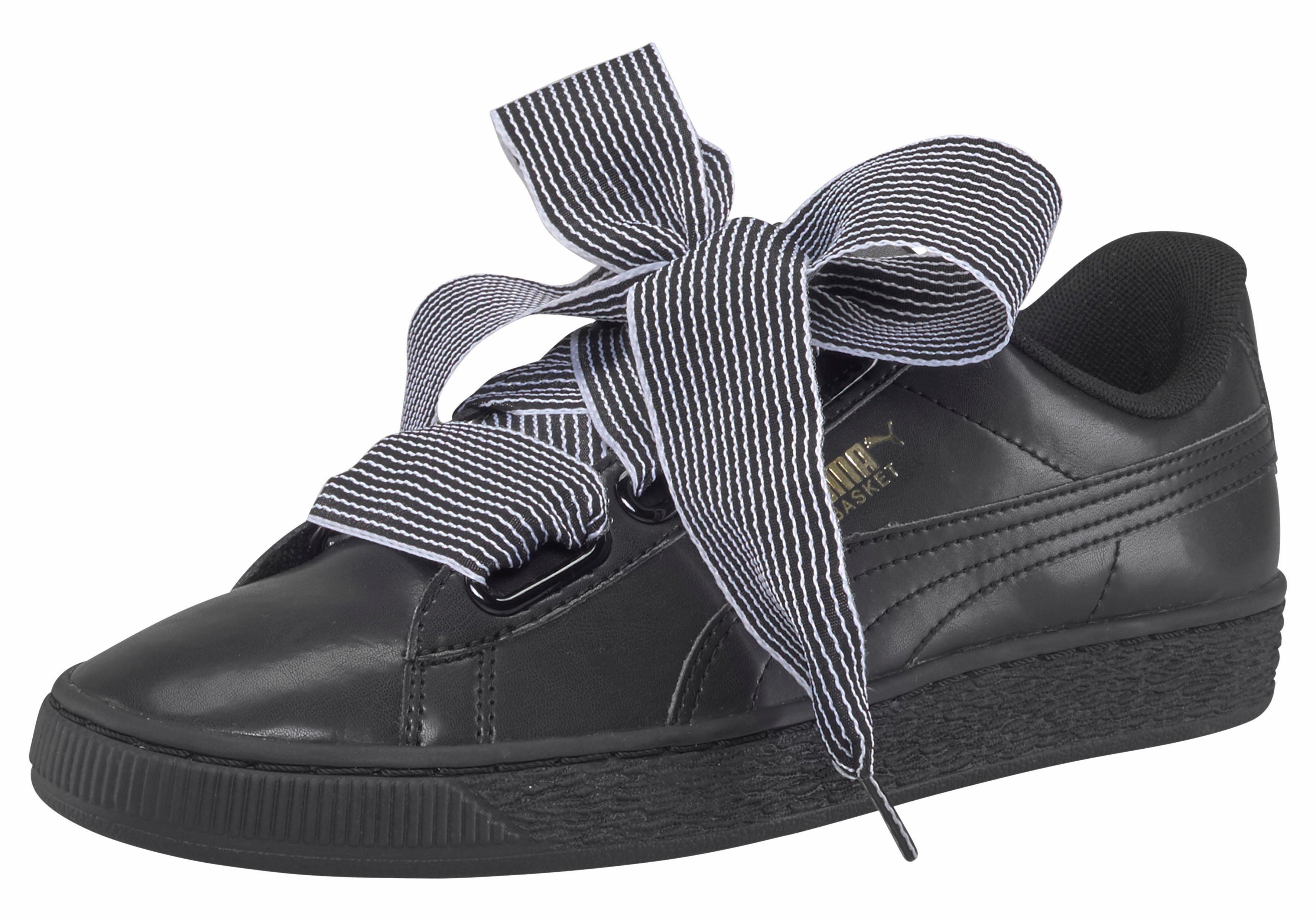Pumas Panier Coeur Perf Femmes Sneaker Gomme, 8,0 Au Royaume-uni - 42,0 Eu