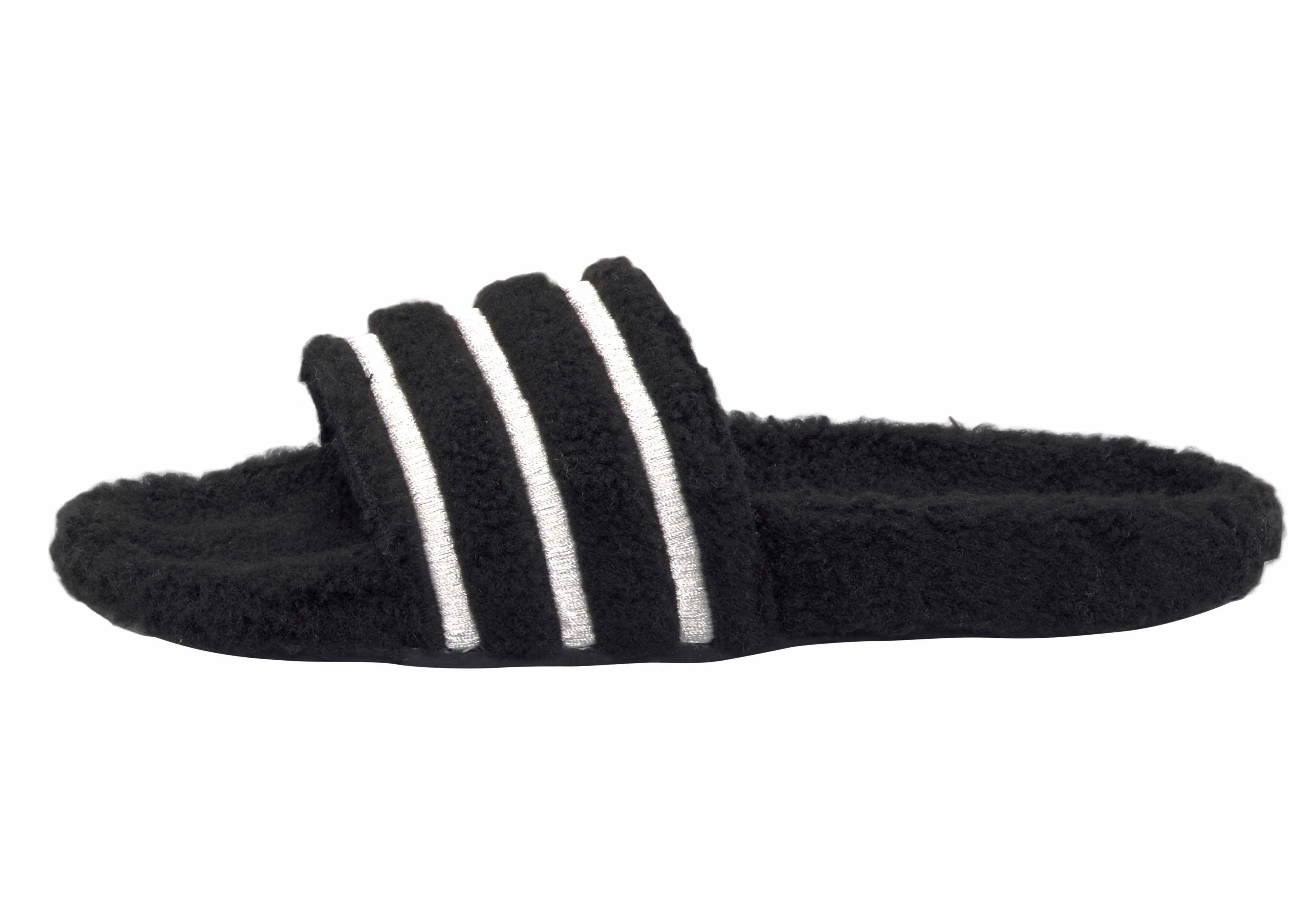 adidas originals slippers zwart