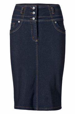 jeansrok blauw