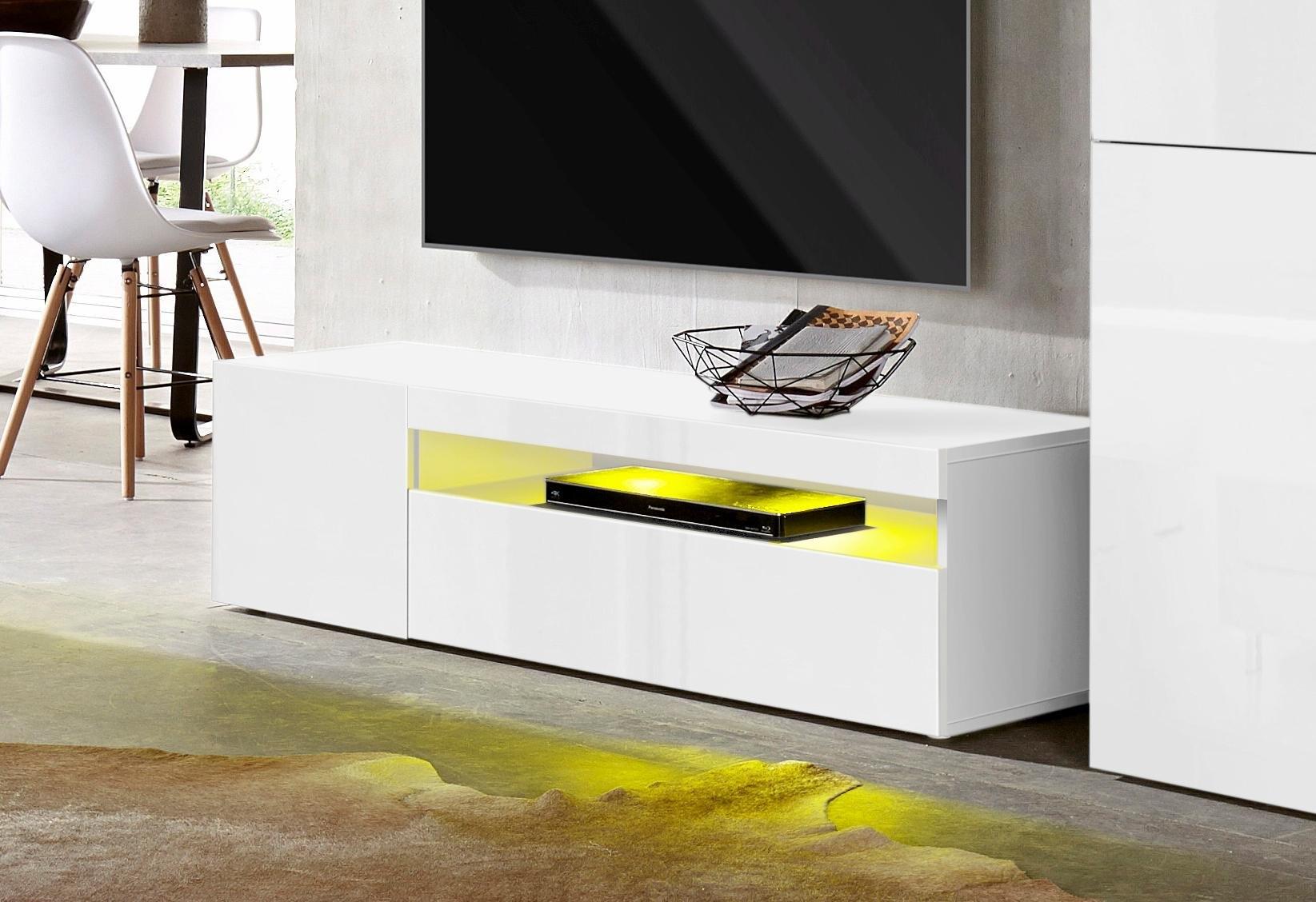 Tecnos tv-meubel Breedte 130 cm, zonder verlichting bestellen: 30 dagen bedenktijd