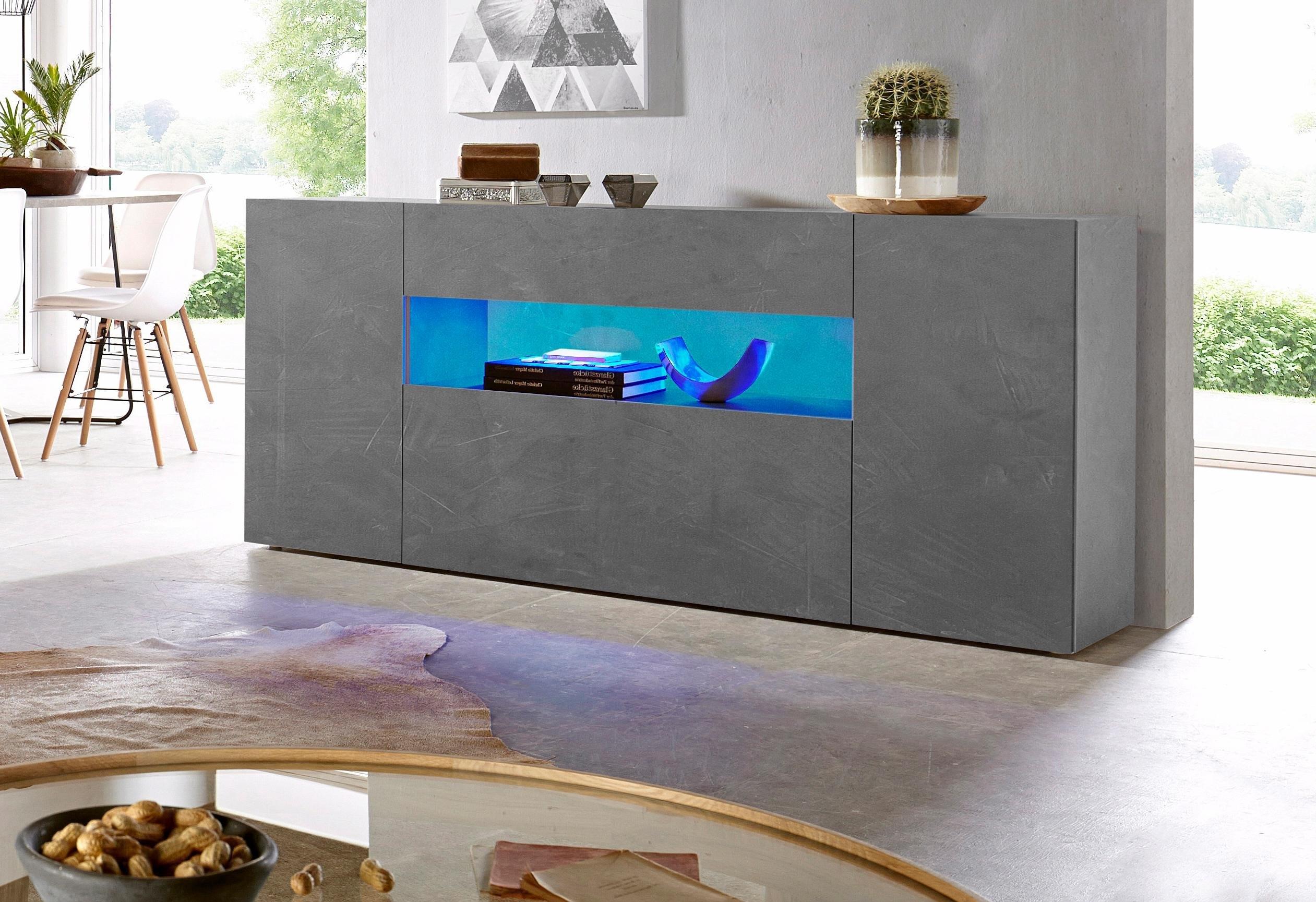 Tecnos dressoir Potenza Breedte 180 cm, zonder verlichting nu online kopen bij OTTO