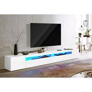 tecnos tv-meubel breedte 260 cm, zonder verlichting wit