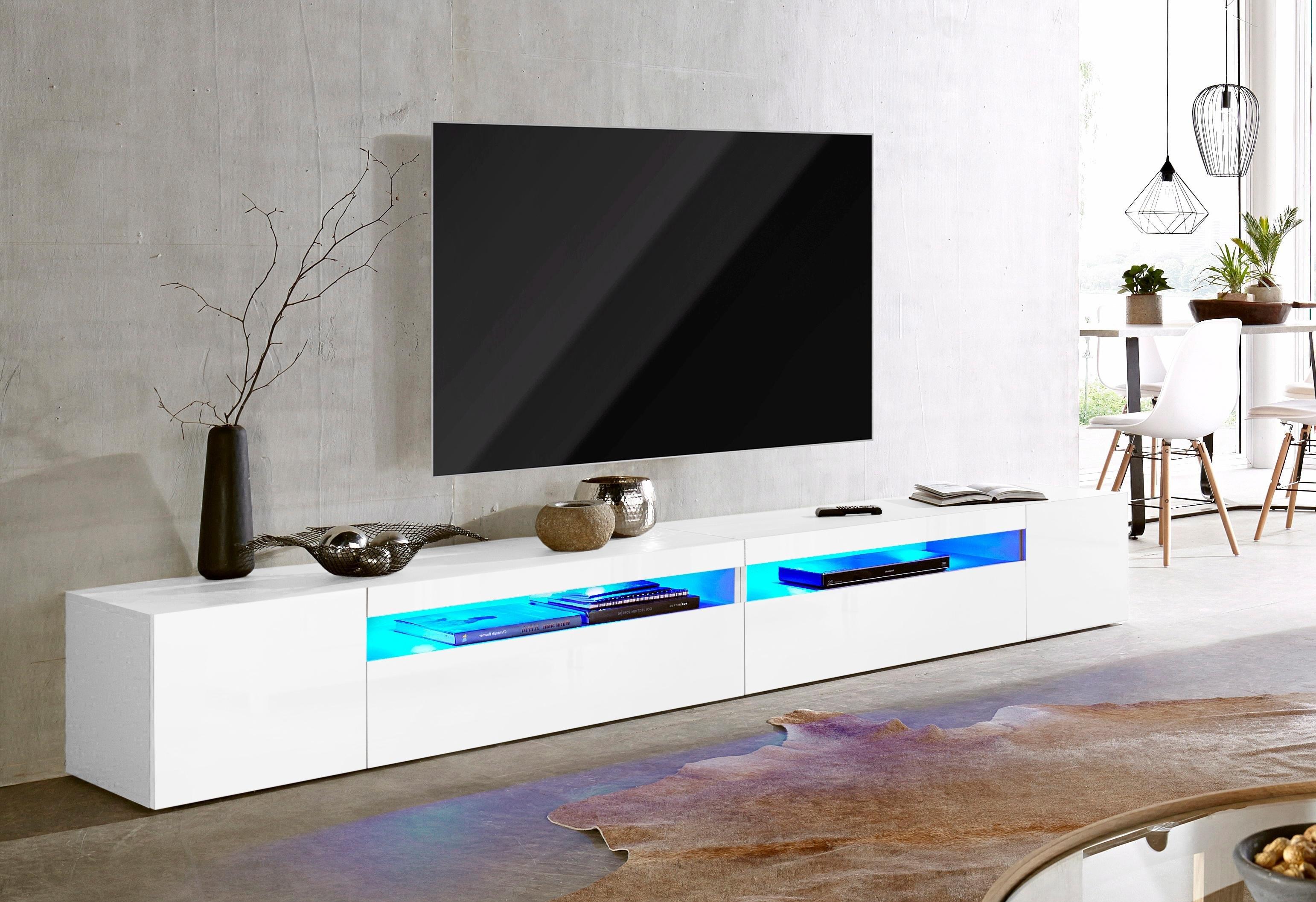 Tecnos tv-meubel Breedte 260 cm, zonder verlichting - gratis ruilen op otto.nl