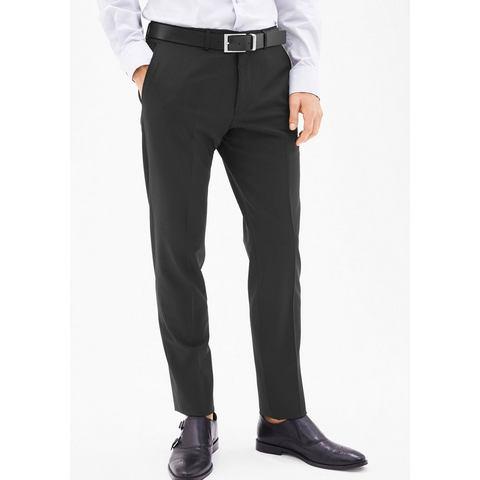 NU 15% KORTING: s.Oliver BLACK LABEL Cosimo slim flex: gestructureerde pantalon
