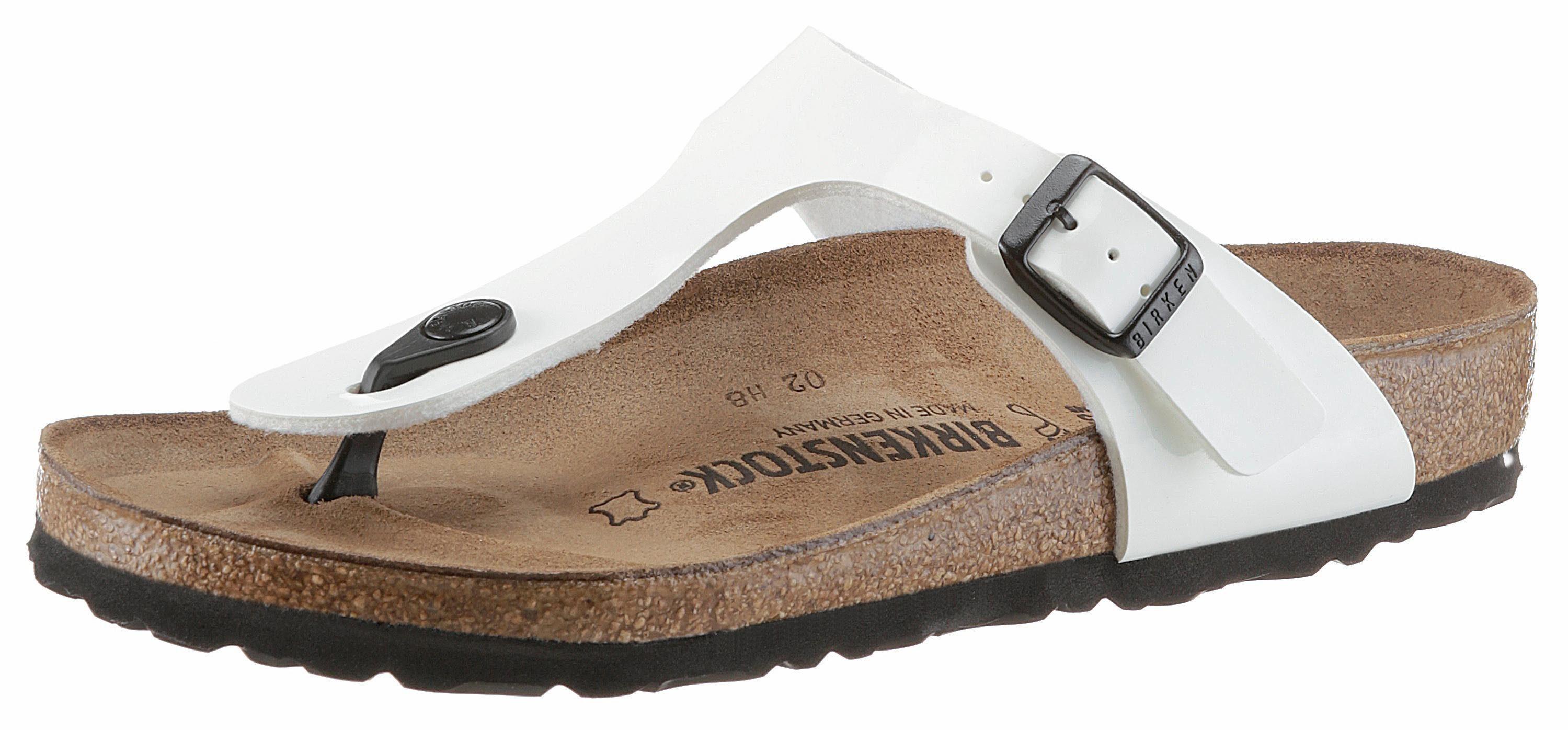 Sandale Birkenstock « Gizeh » Blanc JuEK5