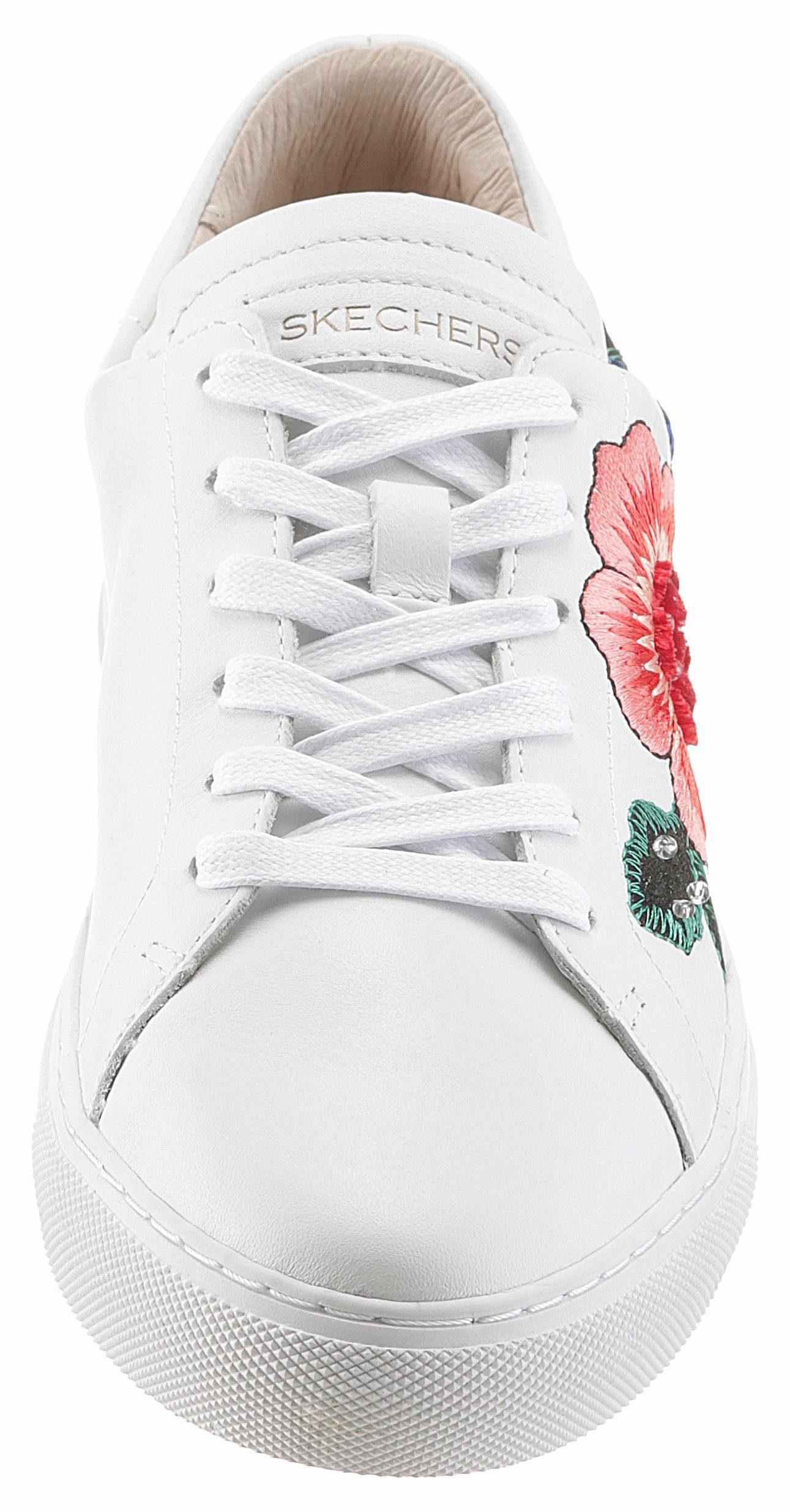 Chaussures De Sport Skechers Couche Vaso Flor « Blanc 4NJPvm8
