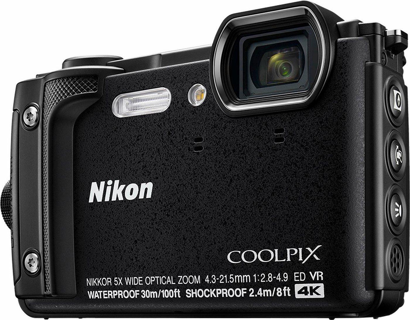 Nikon Coolpix W300 compactcamera, 16 megapixel, 5x optische zoom, 7, 5 cm(3 inch)display