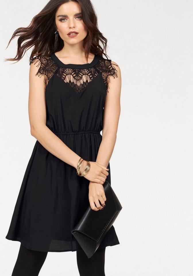 Vero Moda kanten jurk OLILA zwart