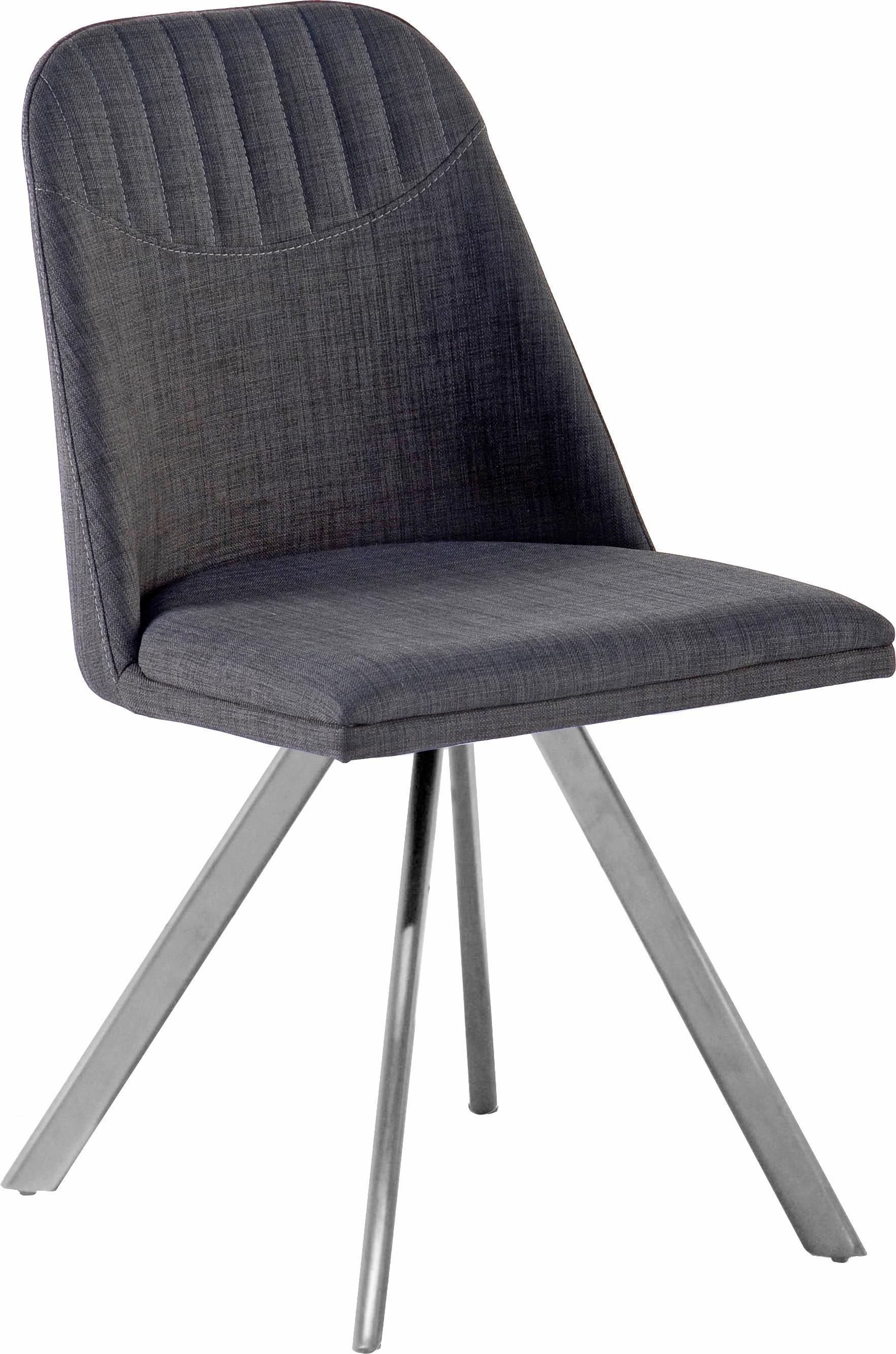 MCA furniture eetkamerstoel Elara 180° draaibaar met retourveer, belastbaar tot max. 120 kg (set, 2 stuks) nu online kopen bij OTTO