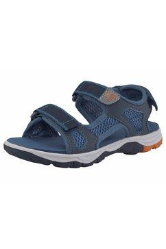 jack wolfskin outdoorsandalen »puno beach sandal boys« blauw