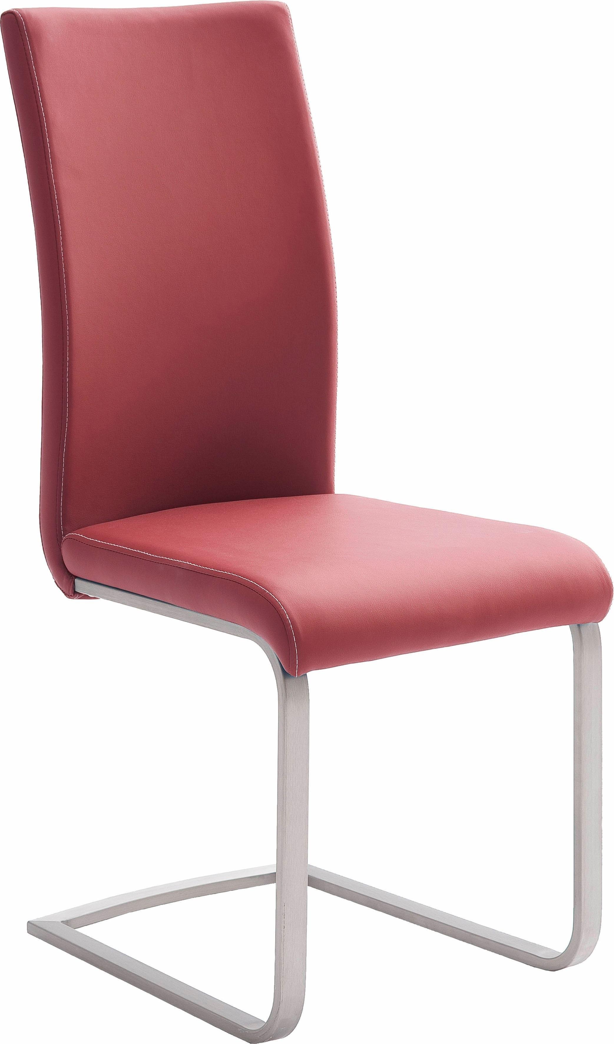 MCA furniture vrijdragende stoel Paulo 1 Stoel belastbaar tot 120 kg (set, 4 stuks) bij OTTO online kopen
