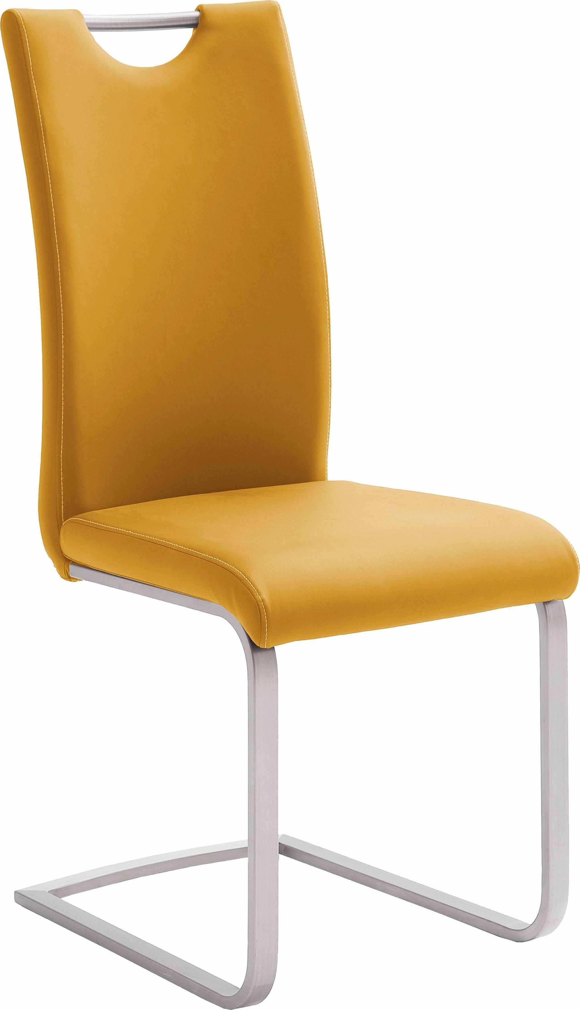 MCA furniture vrijdragende stoel Paulo Stoel belastbaar tot 120 kg (set, 4 stuks) nu online kopen bij OTTO