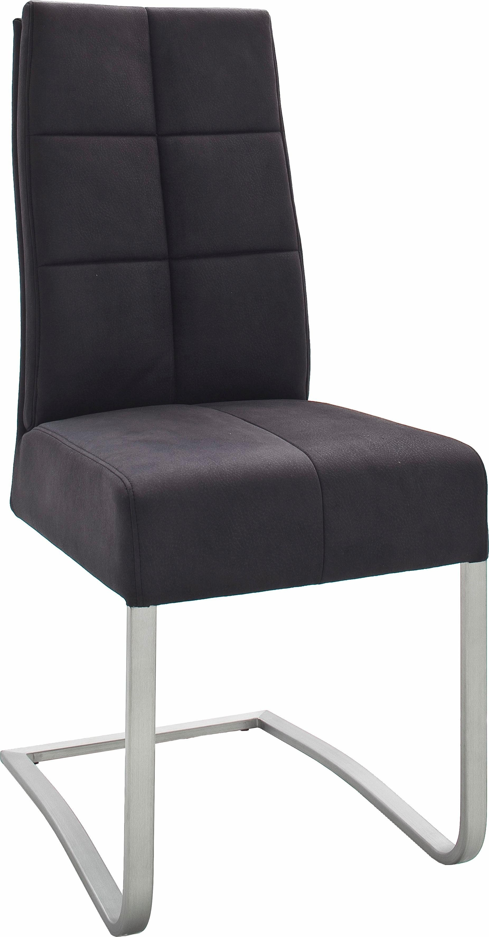 MCA furniture Eetkamerstoel Salva sledestoel met pocketvering, belastbaar tot max. 120 kg (set, 2 stuks) goedkoop op otto.nl kopen