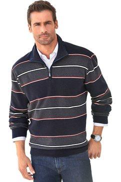 marco donati sweatshirt met schipperskraag blauw