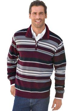 marco donati sweatshirt met korte ritssluiting rood