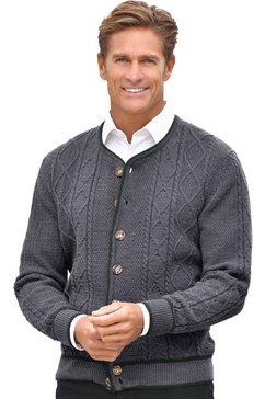 classic vest met knopen grijs