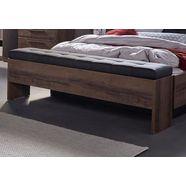 forte slaapkamerbankje »bellevue« inclusief bergruimte beige