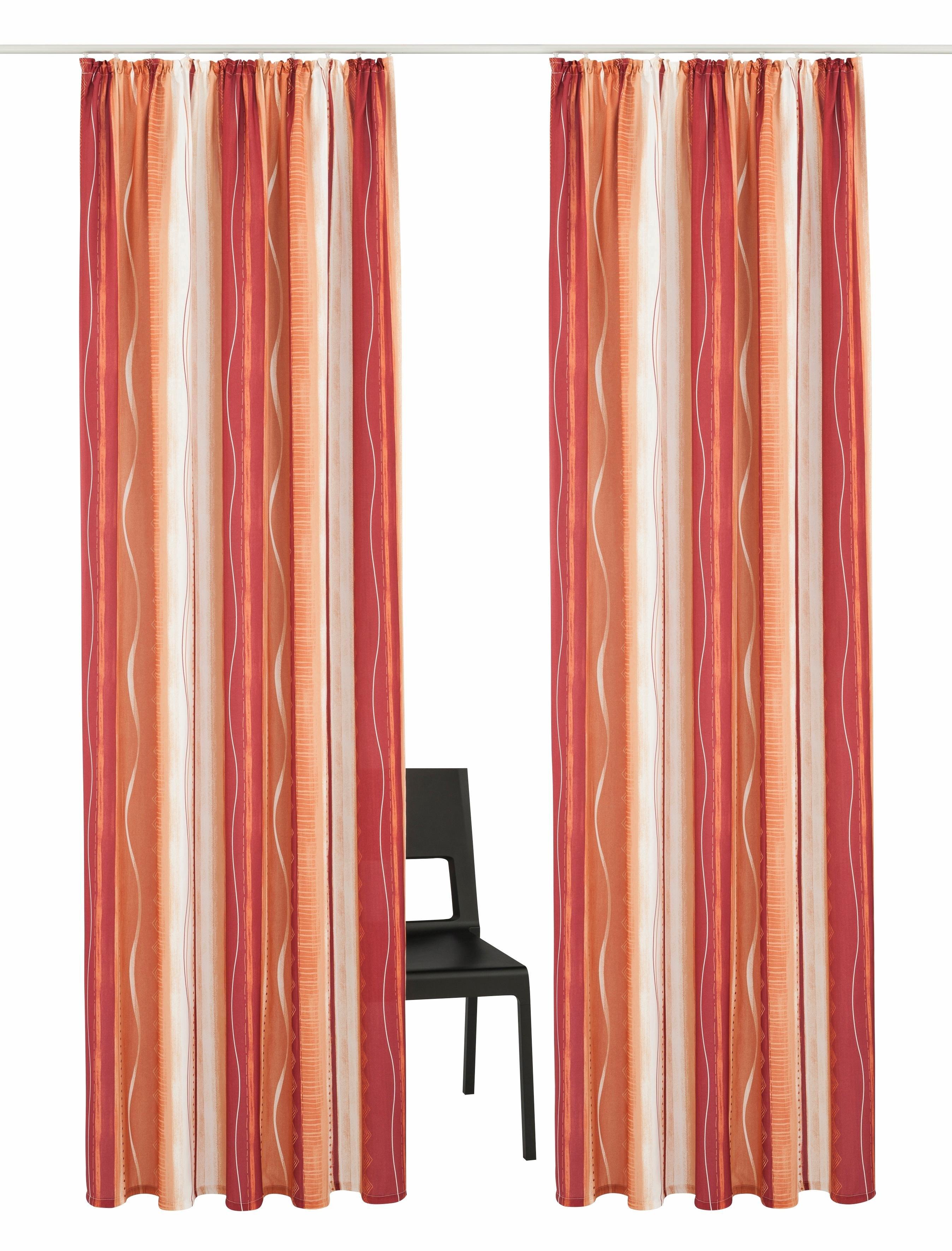 My Home Gordijn, »Macias«, met rimpelband (set van 2) nu online kopen bij OTTO