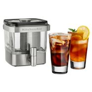 kitchenaid cold-brew-cafetière 5kcm4212sx zilver