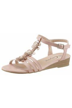 city walk sandalen roze