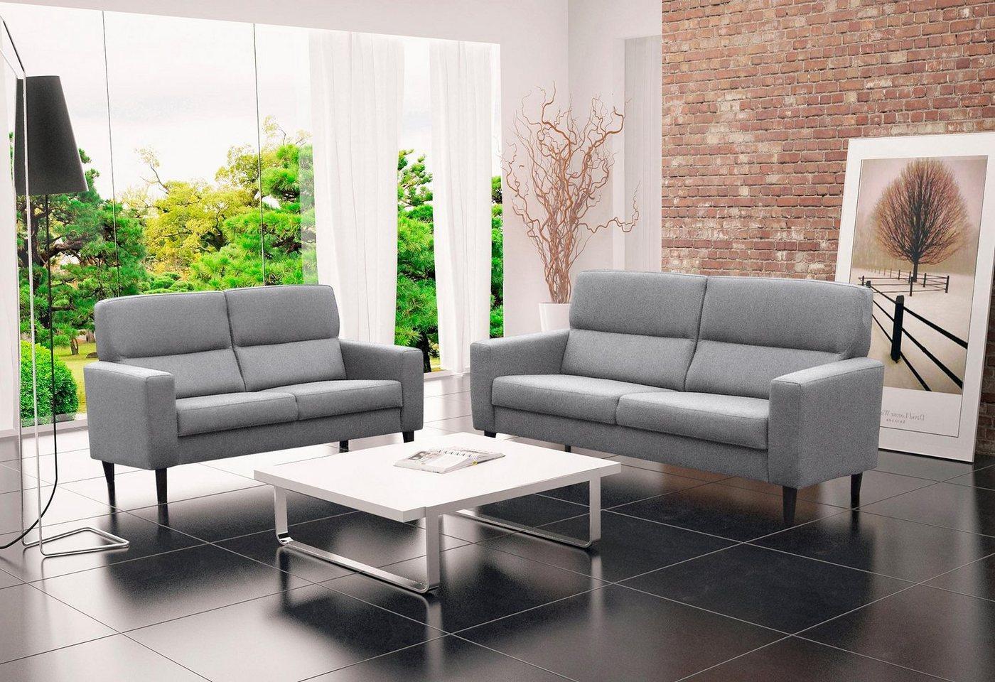Home affaire 2,5-zitsbank Solemio, Scandinavisch design