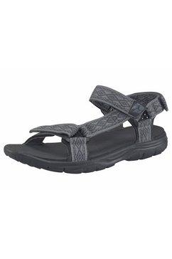 jack wolfskin outdoorsandalen seven seas 2 sandal m grijs
