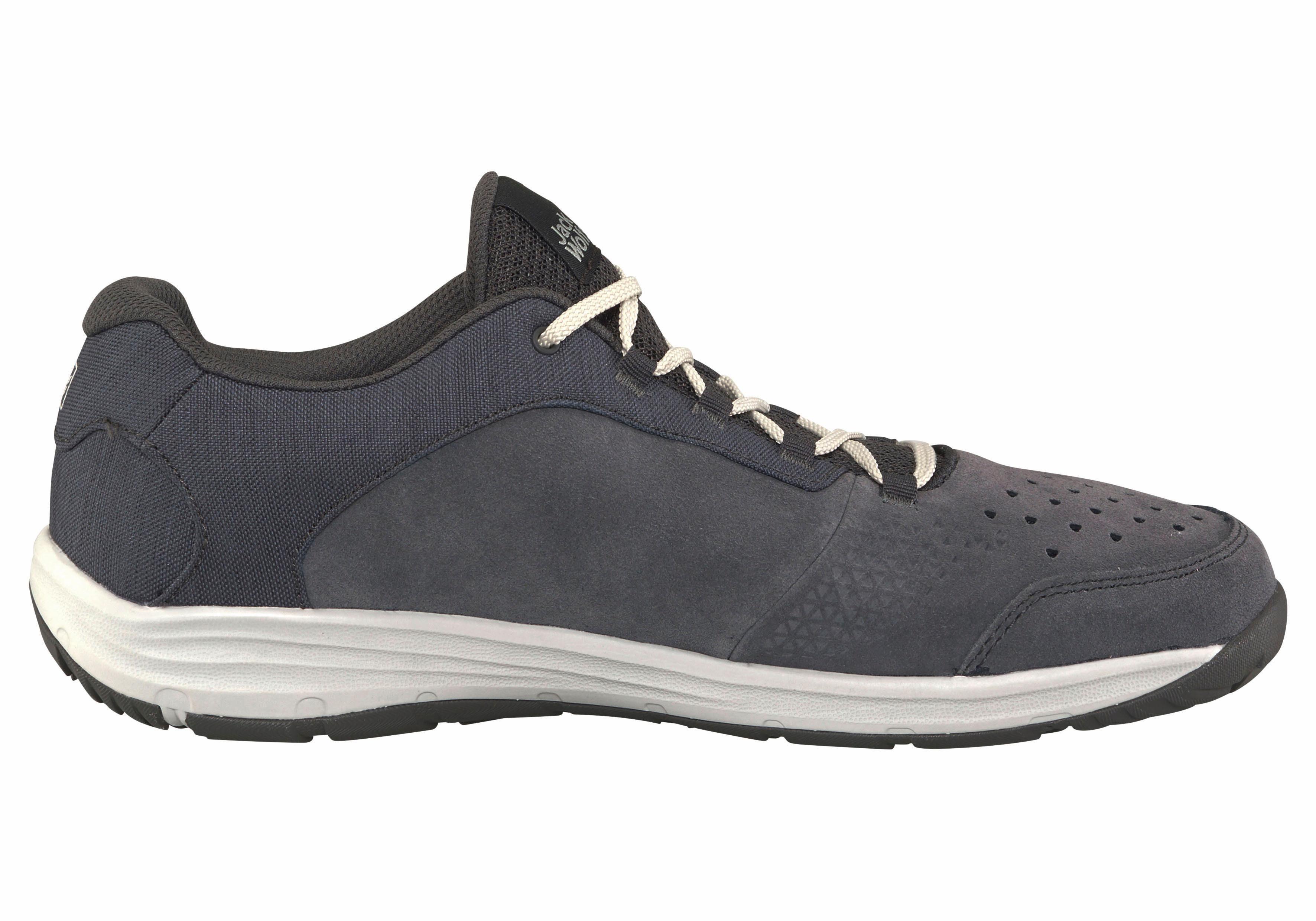 Jack Wolfskin Chaussures Sept Merveilles Pour Les Hommes - Gris Foncé PN1Du0a5b