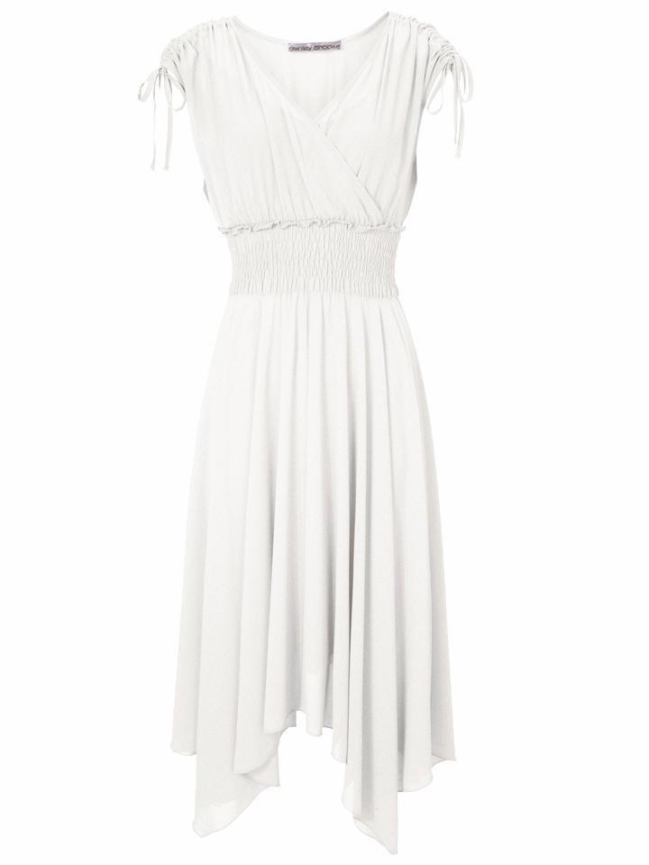 Lange witte jurk online
