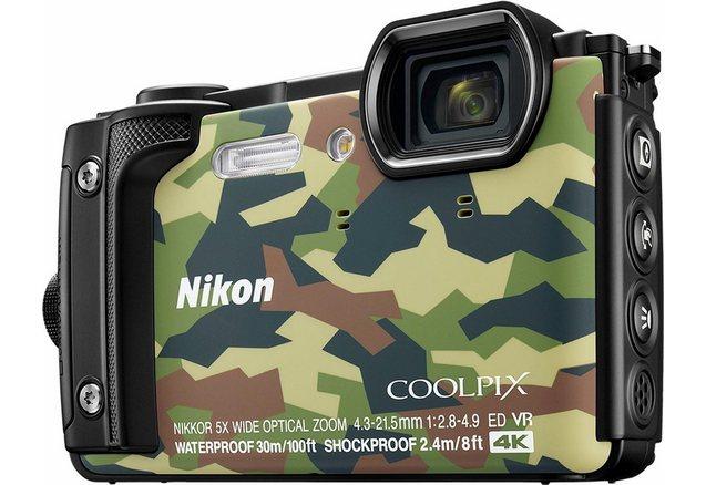 nikon coolpix w300 compactcamera, 16 megapixel, 5x optische zoom, 7,5 cm (3 inch) display