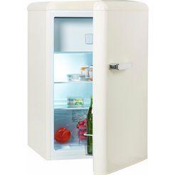 amica koelkast ks 15614 s, a++, 86 cm hoog beige