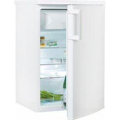 amica koelkast ks 15453, a+++, 84,5 cm hoog wit