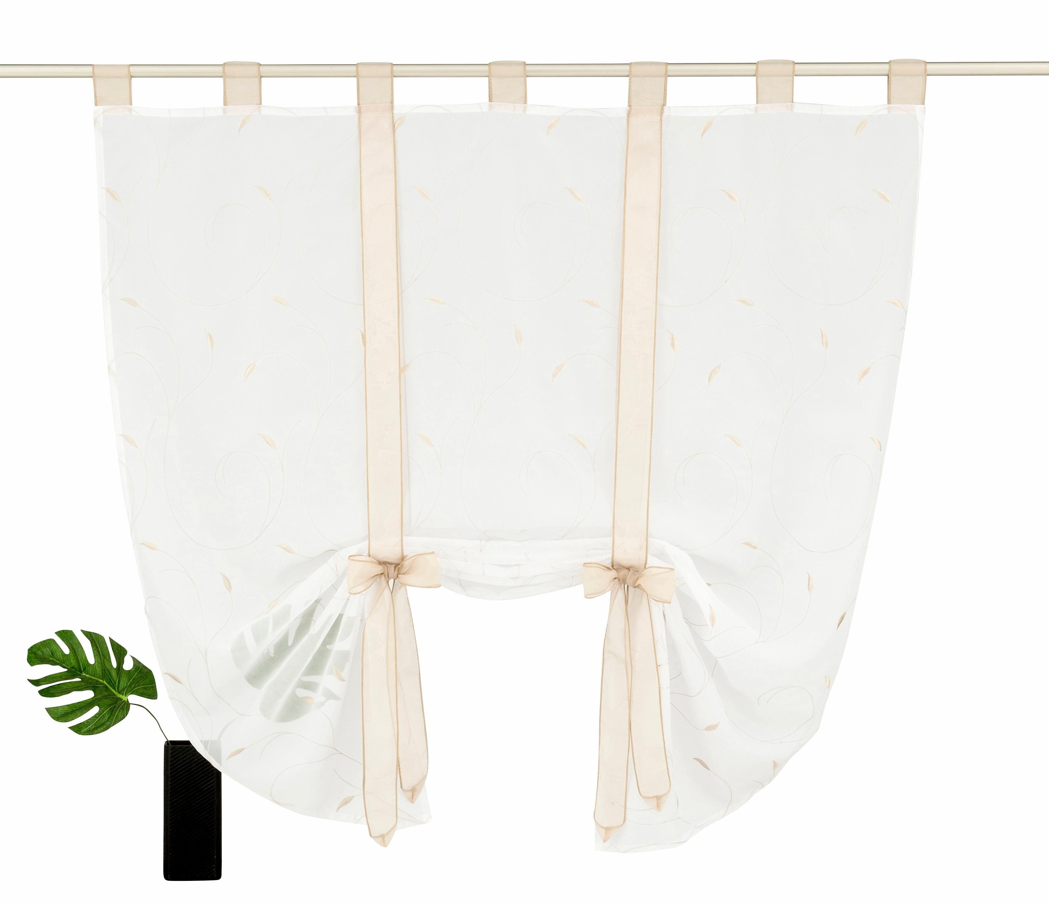 Home affaire Collection Vouwgordijn, »Jaca«, met lussen bij OTTO online kopen