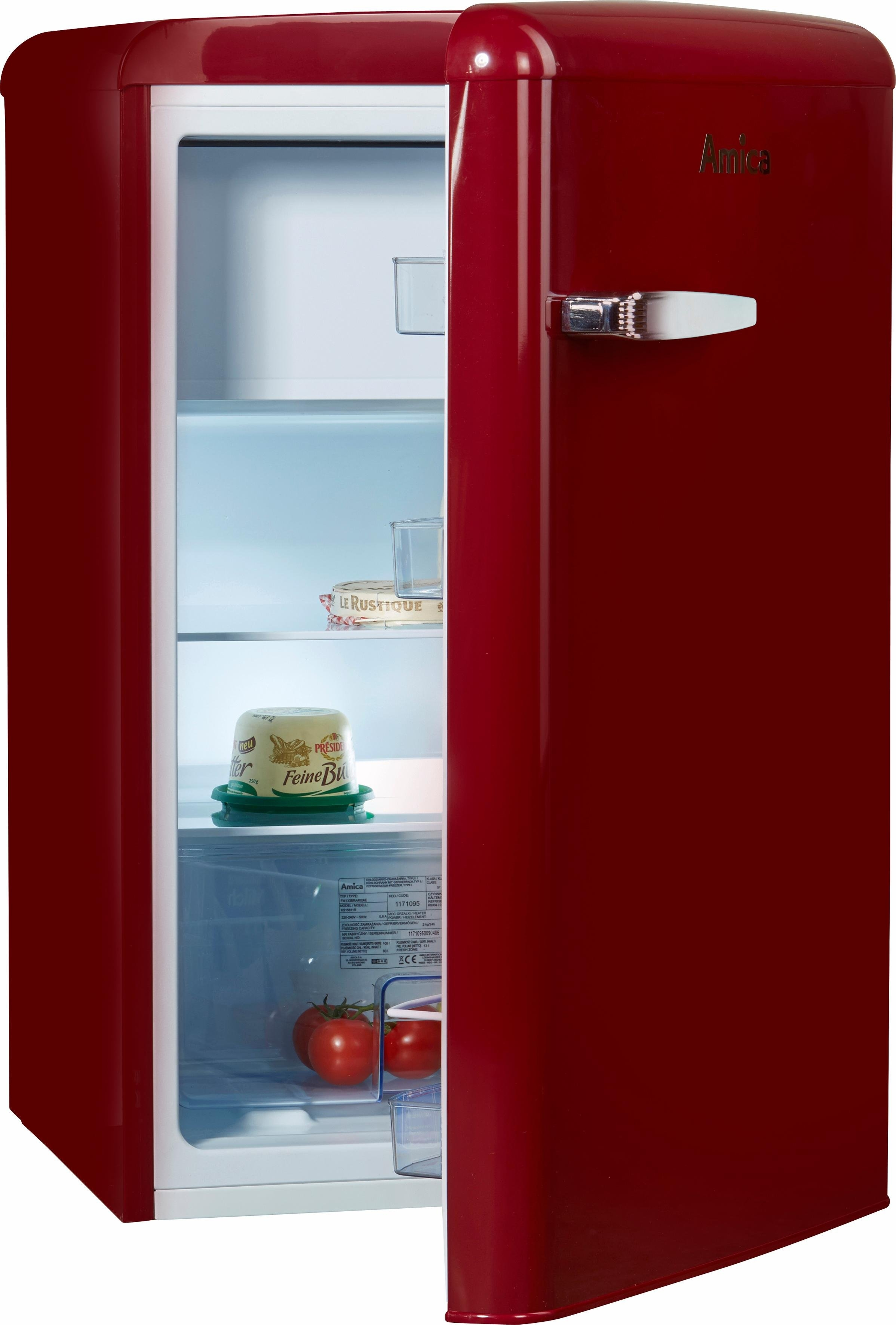 amica koelkast ks 15611 r a 86 cm hoog bestel nu bij otto. Black Bedroom Furniture Sets. Home Design Ideas
