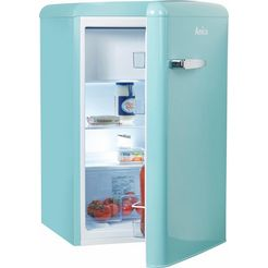 amica koelkast ks 15614 s, a++, 86 cm hoog blauw