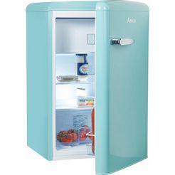 amica table top koelkast blauw