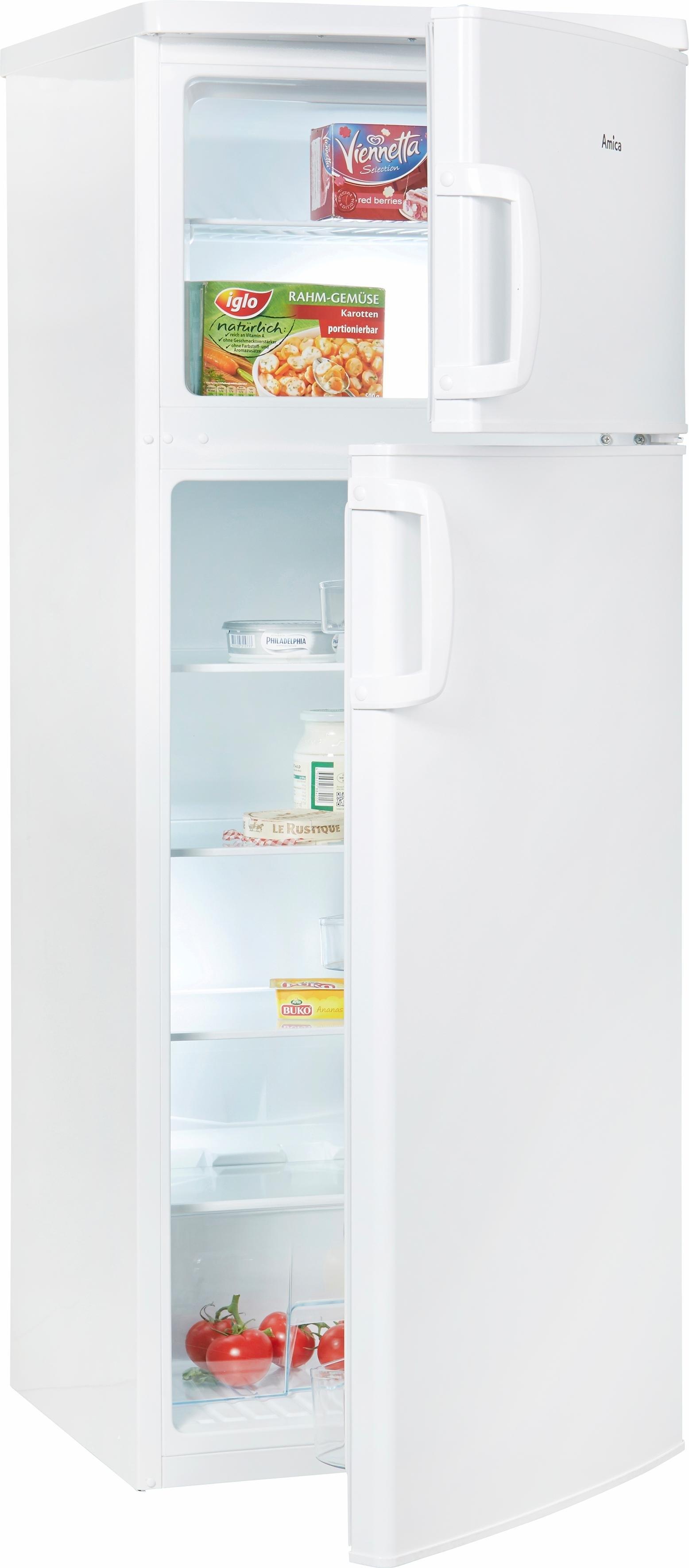 Amica koel-vriescombinatie KGC 15425 W, A++, 144 cm hoog bij OTTO online kopen