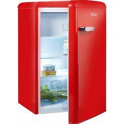 amica koelkast ks 15614 s, a++, 86 cm hoog rood